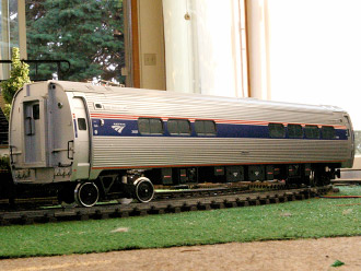 Amtrak Amfleet Cafe Car