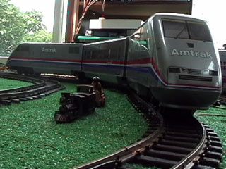 Amtrak Trainset