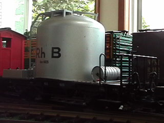 RhB Cement Silo Car