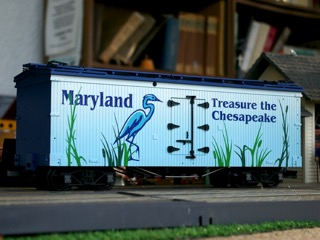 Treasure the Chesapeake Refrigerator Car