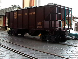 Norfolk And Western Hopper Car