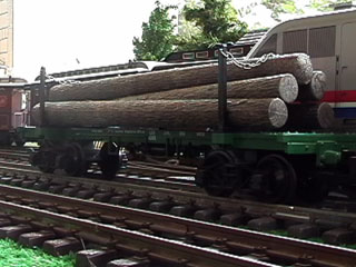 The Long Log Car