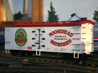 Moosehead Breweries Refridgerator Car